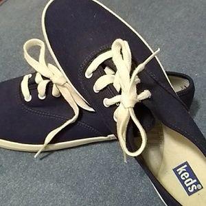 Keds Original Navy Canvas Sneakers Women's 9.5